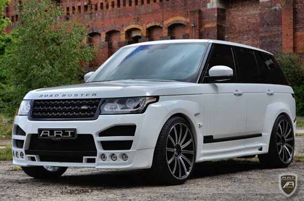 A.R.T. построил Road Buster на базе Range Rover